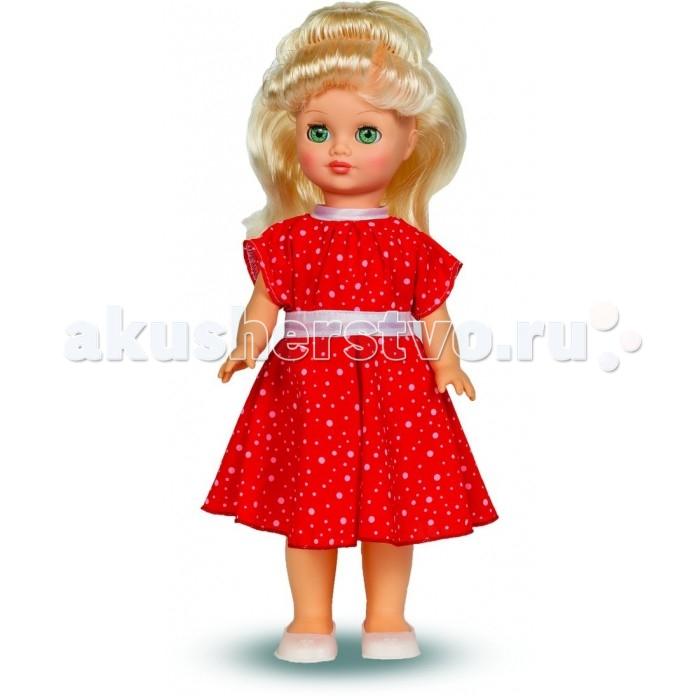 Весна Кукла Маргарита 7 со звуковым устройством 38 смКукла Маргарита 7 со звуковым устройством 38 смКукла Маргарита 7 со звуковым устройством 38 см может стать настоящей подружкой для ребёнка.   Кукла Маргарита Весна 7 одета в нарядное платье из шифона и туфли. Производитель оставляет за собой право изменения цветовой гаммы одежды и волос куклы, цвет глаз может варьироваться.  Игровые и дидактические возможности куклы: при нажатии на звуковое устройство, вставленное в спинку, кукла произносит фразы. Наличие элементов одежды, которые легко снимаются и надеваются, разнообразит возможности сюжетно-ролевых игр с этой куклой, в процессе которых развивается мелкая моторика и творческое воображение ребёнка.   Прекрасные прошитые волосы из качественного нейлона, похожие на натуральные, можно завивать, расчёсывать, укладывать в разные причёски, меняя образ куклы.   Рост куклы 38 см. Кукла Маргарита Весна 7 озвучена. Глаза вставные закрывающиеся. Тело куклы пропорционально. Ручки и голова выполнены из эластичного, приятного на ощупь винила, а туловище и ноги из пластмассы.   Кукла Маргарита Весна 7 соответствует Техническому регламенту Таможенного Союза о безопасности игрушки.  Дополнительно к кукле можно приобрести комплект одежды.  Кукла произносит следующие фразы:  -Теперь ты моя подруга.  -Ты не забыла - сегодня мы идем на праздник.  -Нам нужно быть красивыми.  -Сделай мне прическу!  -Получилось очень красиво!  -Теперь себе.  -Не забудь про маникюр.  -А нарядное платье?  -Мы сегодня самые красивые!<br>