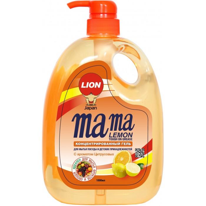 Mama Lemon Концентрированное средство для мытья посуды Антибактериальный с ароматом апельсина 1л