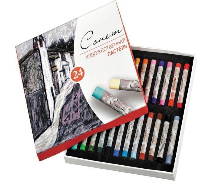 Сонет Пастель художественная 24 цвета