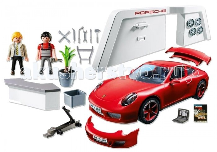 ����������� Playmobil ������������ ����������: Porsche 911 Carrera S
