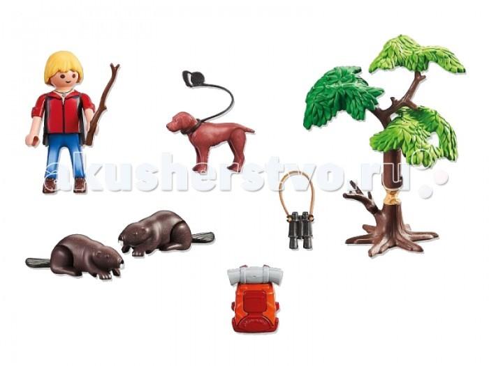 Конструктор Playmobil В Поисках Приключений: Бобры и юный натуралист