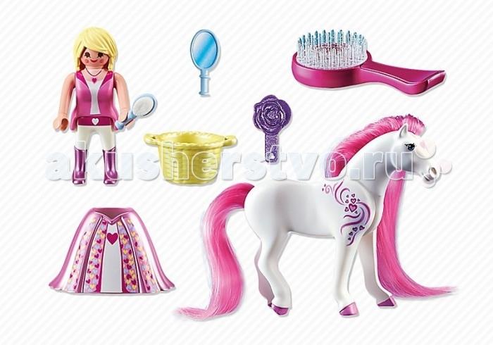 Конструктор Playmobil Принцессы: Розали с Лошадкой