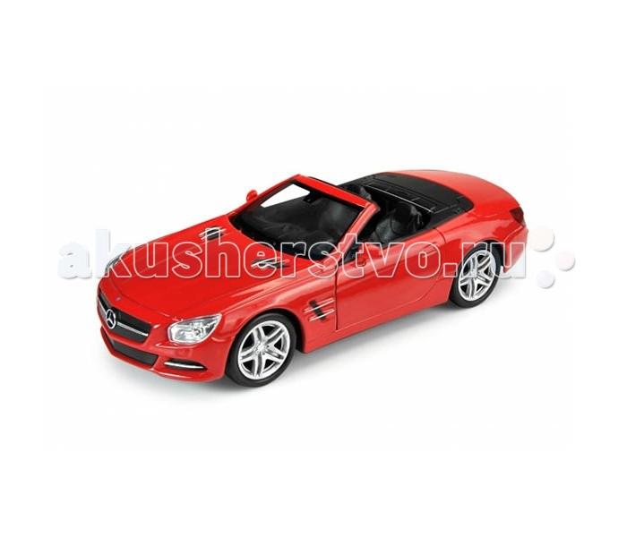 Welly Модель машины 1:34 Mercedes-Benz SL500Модель машины 1:34 Mercedes-Benz SL500Welly Модель машины 1:34 Mercedes-Benz SL500 - это точная копия винтажного автомобиля Mercedes-Benz SL500, выполненная в масштабе 1:34-39.   Эта марка - серия легких спортивных машин класса люкс, которые производятся с 1954 года. Кузов автомобиля - двухдверное купе-кабриолет.   Машина выглядит одновременно и представительно, и в то же время элегантно.  Как и вся продукция компании Welly, машинка отличается исключительно высоким качеством и тщательной детализацией. Кузов выполнен из металла, поэтому игрушку по прав можно считать долговечной. Кроме того, у машинки открываются двери и капот, что сделает игру с ней еще более интересной и увлекательной. Также модель может достойно пополнить любую коллекцию автомобилей.<br>