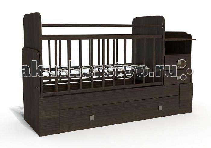 Кроватка-трансформер Bambu Milana