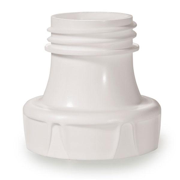 BornFree Переходник-адаптер для молокоотсосаПереходник-адаптер для молокоотсосаПодходит для использования большинства стандартных молокоотсосов и бутылочек BornFree с широким горлышком. Адаптер легко моется и сделан из безопасной пластмассы, не содержащей бисфенол-А.<br>