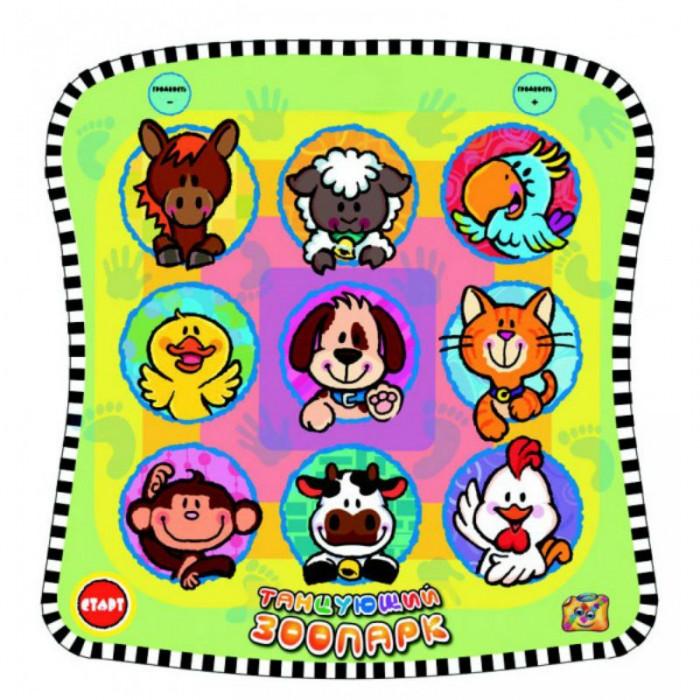 Игровой коврик Знаток Звуковой коврик Танцующий Зоопарк