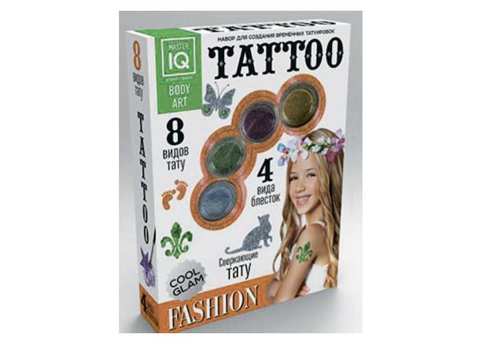 Каррас Игровой набор для временных татуировок Fashion