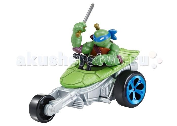Turtles Машинка Черепашки-ниндзя 7 см Лео на Вездеходе