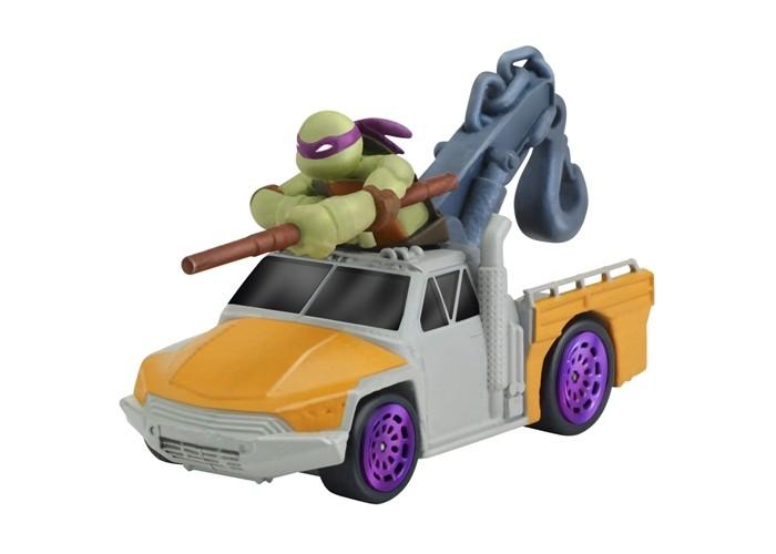 Turtles Машинка Черепашки-ниндзя 7 см Донни на подъемнике