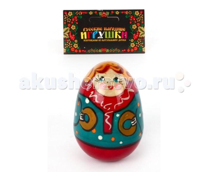 Деревянная игрушка Русская народная игрушка (РНИ) Неваляшка Мальчик