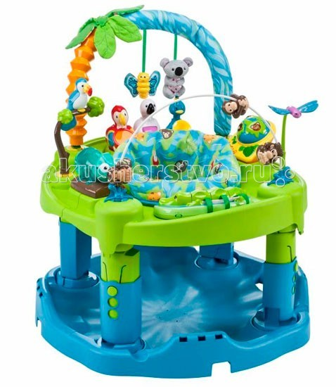 Игровые центры Evenflo ExerSaucer Animal Planet