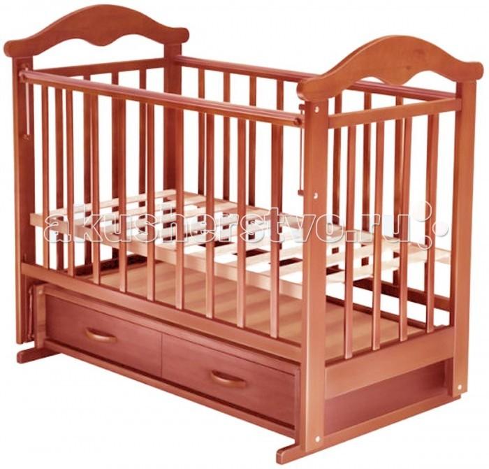 Детская кроватка Ведрусс Солнышко №4 (поперечный маятник)