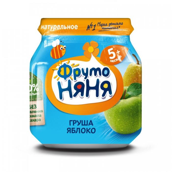 ФрутоНяня Пюре из груш и яблок с 5 мес., 100 г