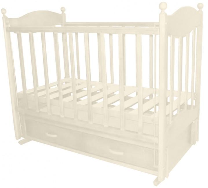 Детская кроватка Ведрусс Эля (продольный маятник)
