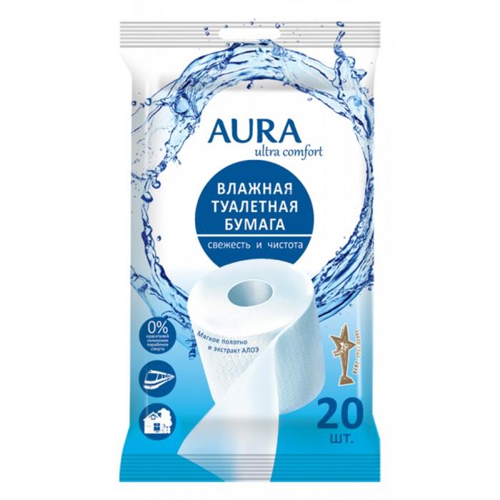 Aura Влажная туалетная бумага Ultra Comfort 20 шт.