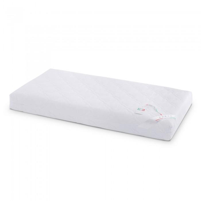 Матрас Beatrice Bambini Noce di Cocco 125х65Noce di Cocco 125х65Beatrice Bambini Noce di Cocco (125х65) - это ортопедический матрасик для малышей, который создан для стандартных кроваток с габаритными размерами спального места 125x65 см.   Ребенок будет хорошо спать в своей кроватке, так как натуральные материалы являются гипоаллергенными и экологически чистыми.   Внутренний наполнитель состоит из таких рекомендованных материалов как кокосовая койра и натуральный латекс. Они создают правильную жесткость и поддерживают правильную анатомическую форму позвоночника.   Особенности матраса  подходит для всех детских кроваток со стандартными размерами 125х65  наполнителем выступает натуральное кокосовое волокно и латекс  натуральная хлопковая ткань в качестве верхнего чехла  правильная ортопедическая форма  Кокосовое волокно — идеальный материал для создания жестких и средней жесткости матрасов. Кокосовая койра известна эластичностью, прочностью и долговечностью. Помимо прочности и износоустойчивости, кокосовые матрасы обладают рядом таких преимуществ, как гипоаллергенность, влагоустойчивость (кокосовая койра не впитывает воду) и воздухопроницаемость.  Латекс — натуральный материал, представляющий собой вспененный экстракт сока каучукового дерева. Экологически чистый, безопасный материал. Обладает гипоаллергенными свойствами. Имеет губчатую структуру, что позволяет «дышать» матрасу и обеспечивает отличную вентилируемость, а также быстрое испарение влаги. Пористая структура латекса позволяет сохранять тепло в холод, и не нагревается в жаркие летние дни. Благодаря отличным качествам упругости, латекс способствует равномерному распределению нагрузки на все зоны тела, обеспечивая идеальное повторение каждого его изгиба, и поддерживает позвоночник.<br>