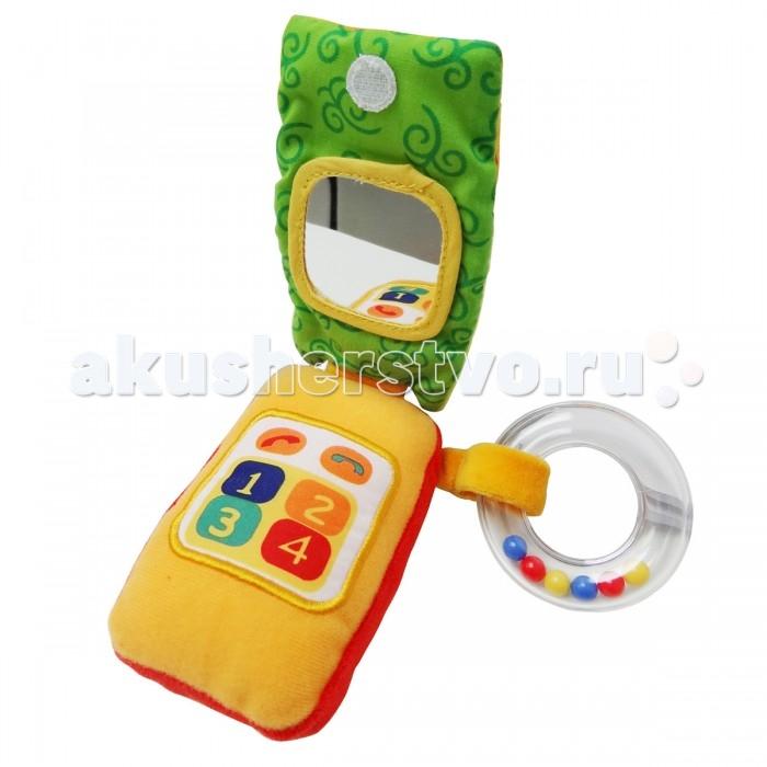 Развивающая игрушка Ути Пути Телефон Сова со звуком