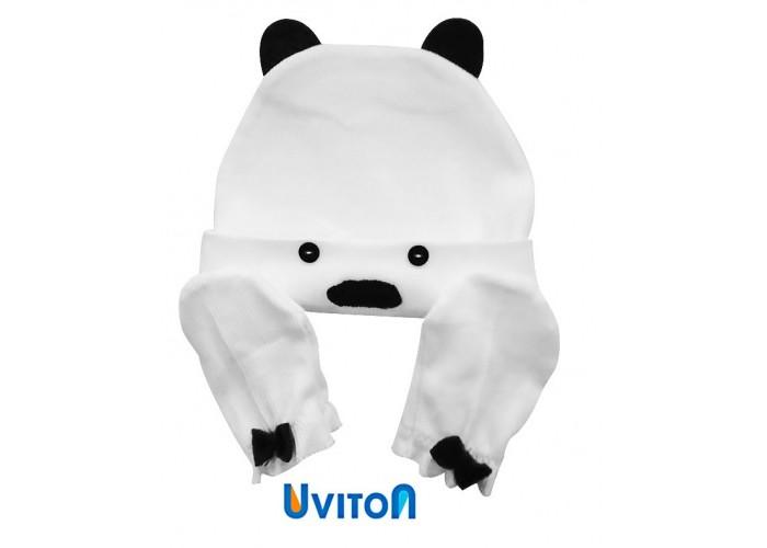 Uviton Набор шапочка и царапки Bear