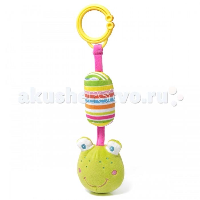 Подвесная игрушка Ути Пути Лягушонок с погремушкой