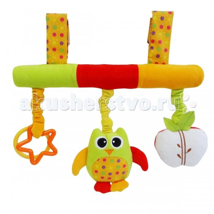 Подвесная игрушка Ути Пути Сова с яблоком и звездой