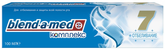 Blend-a-med Зубная паста Комплекс 7 Отбеливание 100 мл