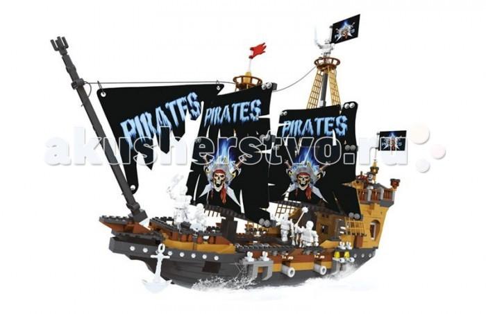 Конструктор Ausini серии Пираты 840 деталей