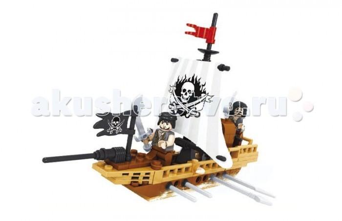 Конструктор Ausini серии Пираты 100 деталей