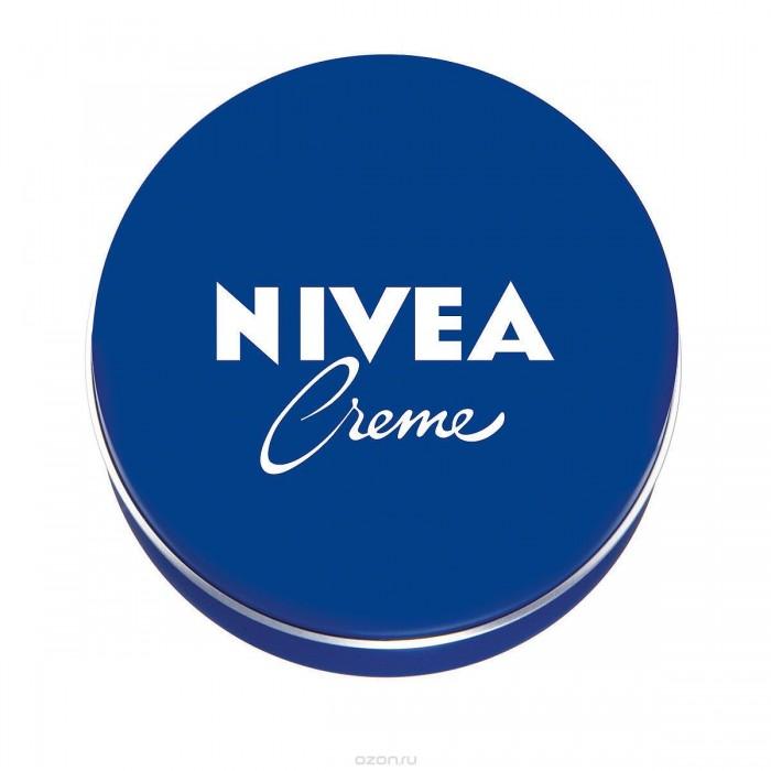 Nivea Cream Крем 75 мл для ухода за кожейCream Крем 75 мл для ухода за кожейБесподобное увлажнение для всех типов кожи, как для взрослых, так и для детей, в любое время года.  Nivea Creme – универсальный увлажняющий крем.  Благодаря уникальной формуле с эвцеритом, пантенолом и глицерином, крем прекрасно увлажняет, питает и бережно ухаживает за кожей тела, особенно за ее сухими участками.   Nivea Creme не содержит консервантов и поэтому подходит даже для нежной детской кожи.  Продукт одобрен дерматологами.  Nivea является одной из ведущих мировых компаний в области средств по уходу за кожей. Nivea заботится о потребителях, предлагая им совершенные и инновационные продукты. В исследовательском центре компании работает более 150 специалистов в области дерматологии и косметологии, фармакологии и химии. Косметическая продукция совершенствуется благодаря регулярным лабораторным исследованиям и многочисленным тестам.<br>