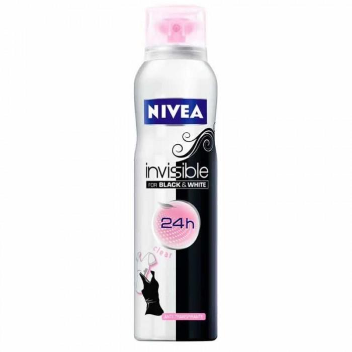 Nivea Део-спрей Невидимая защита для черного и белого Clear 150 мл