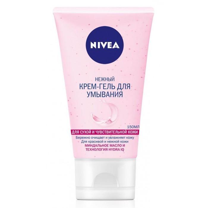 Nivea Visage Нежный крем-гель для умывания эффективное очищение для сухой кожи 150 мл