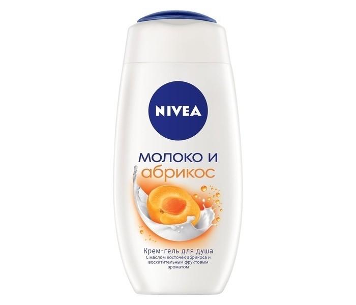 Nivea Крем-гель для душа Молоко и Абрикос 250 мл