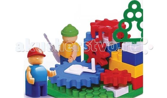 Конструктор Bauer серии Mechanic 35 деталейсерии Mechanic 35 деталейКонструктор серии Mechanic состоит из 35 деталей, благодаря которым можно собрать объекты различной сложности.  Яркие детали этого конструктора позволяют легко их комбинировать, каждый раз придумывая что то новое.   Играя с конструктором, ребенок учится различать цвета и геометрические фигуры, развивая свое воображение и пространственное мышление, а так же ловкость, координацию движений и мелкую моторику рук.<br>