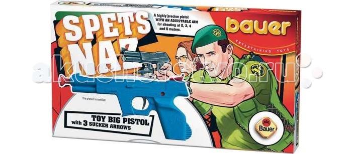 Bauer Игрушка Пистолет Спецназ с тремя стрелами