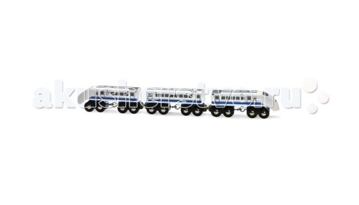 Brio Пассажирский поезд экспресс 3 элемента