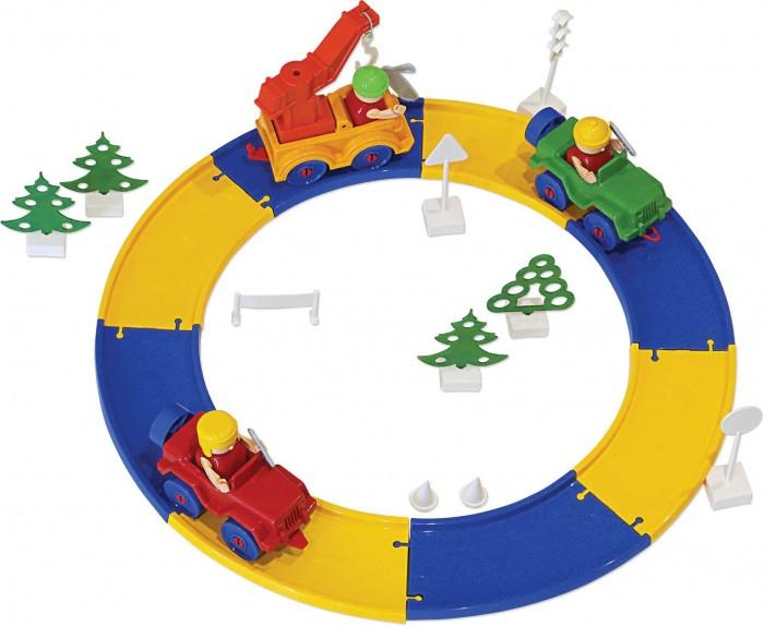 Конструктор Bauer серии Автодорога 136 деталисерии Автодорога 136 деталиКонструктор серии Автодорога состоит из 136 деталей, благодаря которым можно построить автодороги с эстакадами и перекрестками, дорожной строительной техникой и различными элементами местности.  Яркие детали этого конструктора позволяют легко их комбинировать, каждый раз придумывая что то новое.   Играя с конструктором, ребенок учится различать цвета и геометрические фигуры, развивая воображение и пространственное мышление, а так же ловкость, координацию движений и мелкую моторику рук.<br>