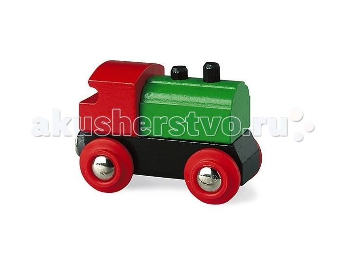 Brio Паровоз классикаПаровоз классикаBrio Паровоз классика. Классический паровозик из дерева с магнитным соединением с одной стороны. Для начинающих маленьких строителей железной дороги.  С помощью магнитной сцепки паровоз может соединяться с любыми вагонами деревянной железной дороги.<br>