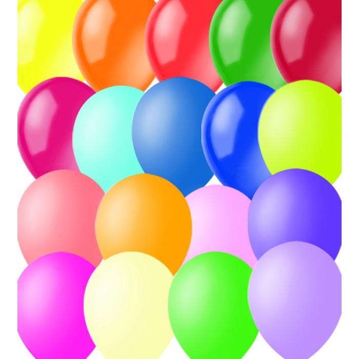 Поиск Воздушные шары ассорти пастель 100 шт.Воздушные шары ассорти пастель 100 шт.Красивые воздушные шарики - необходимый атрибут праздника. Воздушные шарики для детей и взрослых, традиционная недорогая игрушка, праздник своими руками, прекрасный материал для украшения праздничного интерьера. Набор разноцветных шариков - цвет пастель.  Диаметр - 23 см Количество - 100 шт.<br>