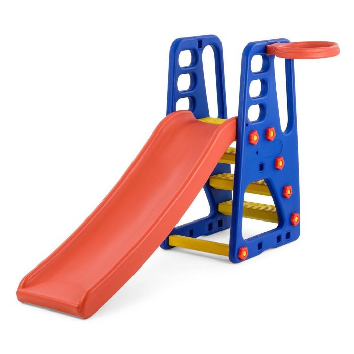 Горки Happy Box с баскетбольным кольцом