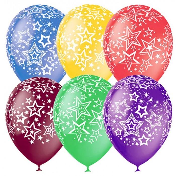 Поиск Воздушные шары Звезды 25 шт.Воздушные шары Звезды 25 шт.Набор цветных воздушных шариков с рисунком для праздника. Яркие шарики диаметром до 30 см отлично подойдут для украшения. В наборе 25 шаров.<br>