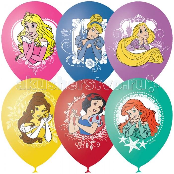 Поиск Воздушные шары Дисней Принцессы 4 цвета пастель 25 шт.