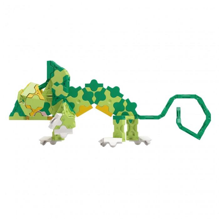 Конструктор LaQ  Animal World Chameleon Хамелеон (175 деталей)Animal World Chameleon Хамелеон (175 деталей)Конструктор LaQ Animal World Chameleon Хамелеон (175 деталей). В наборе представлены фигуры квадрата и треугольника, пять видов соединительных креплений. Особенностью конструктора является уникально простая система крепления деталей, поэтому с готовой игрушкой можно играть в свое удовольствие.   Из деталей можно создать 4 фигуры животных, если следовать инструкции.  Время, проведенное в творчестве с конструктором LaQ Хамелеон – это не только время радости, творчества и вдохновения, но и время для развития полезных навыков ребенка, увлекательной подготовки к школе, развития мелкой моторики рук, выработки аккуратности, усидчивости, внимательности.  В наборе 175 деталей.<br>