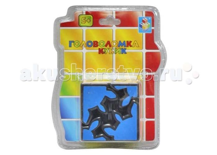 Развивающая игрушка 1 Toy Головоломка 3D кубик