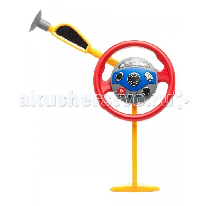 1 Toy Игрушка на сиденье автомашины Р-р-рульИгрушка на сиденье автомашины Р-р-руль1 Toy Игрушка на сиденье автомашины Р-р-руль  Красочная игрушка в виде руля имеет реалистичный дизайн, и при помощи присоски может фиксироваться на стекле автомобиля. В центре руля находится кнопка клаксона. Если нажать на нее, раздастся сигнал. Также в игрушке и световые эффекты. На руле имеются кнопки газа, тормоза, а также кнопка экстренной остановки. Ребенок, сидя в машине, будет воображать, что он сам управляет автомобилем.  Возраст: от 3 лет Цвет: желто-красный Комплект: руль, 2 детали для крепления Наличие батареек: не входят в комплект Тип батареек: 3 х АА / LR6 1.5V (пальчиковые) Размер игрушки: 23 х 2 х 23 см<br>