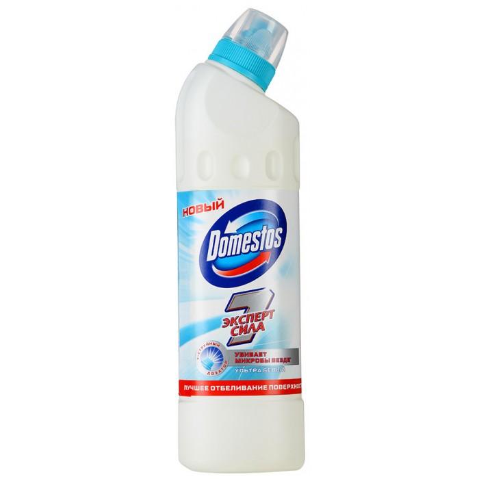 Domestos Чистящее средство для унитаза Эксперт Сила 7 Ультра белый 500 мл