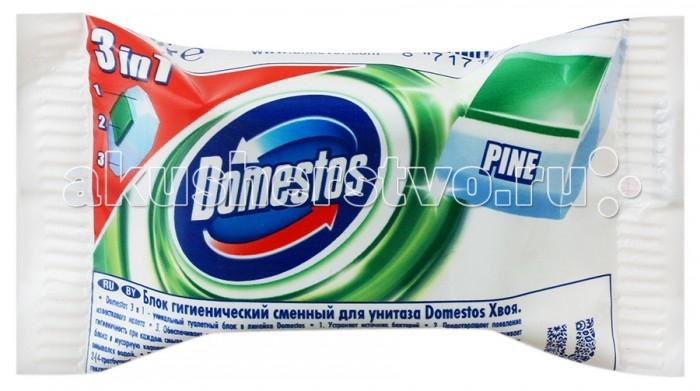 Domestos Блок для унитаза гигиенический Хвойная свежесть сменный 40 г