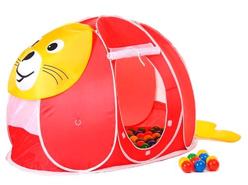 Палатки-домики Calida Дом-палатка + 100 шаров Тюлень