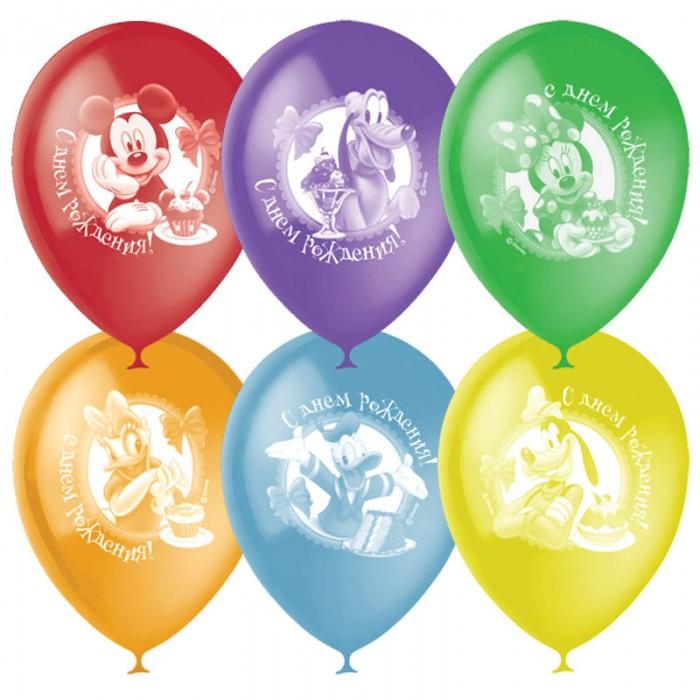 Поиск Воздушные шары Дисней С Днем РожденияВоздушные шары Дисней С Днем РожденияНабор цветных воздушных шариков с рисунком для праздника. Яркие шарики диаметром до 30 см отлично подойдут для украшения. В наборе 50 шаров.<br>