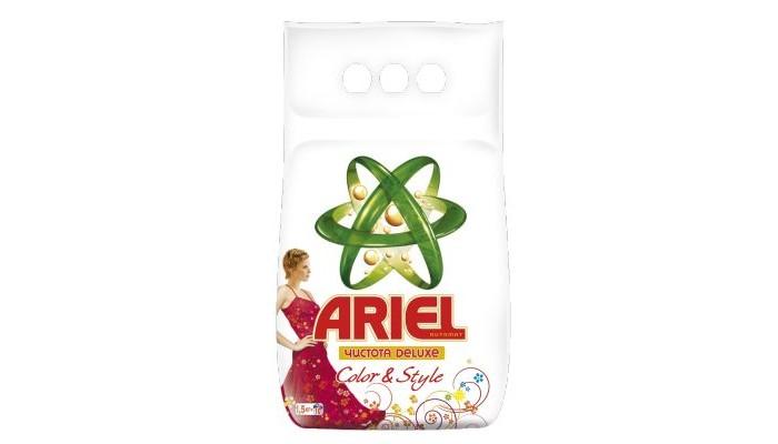 Ariel Стиральный порошок автомат Color&Style 1.5 кг