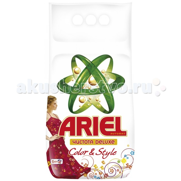 Ariel Стиральный порошок автомат Color&Style 6 кг