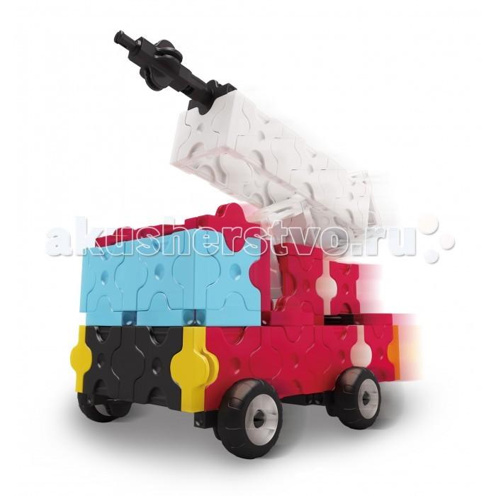 Конструктор LaQ  Fire Truck Пожарные машины (170 элементов)Fire Truck Пожарные машины (170 элементов)Конструктор LaQ Fire Truck Пожарные машины (170 элементов) это безграничные возможности создания плоских и объемных моделей с помощью основных видов деталей и запатентованной системы соединений. Гибкие и прочные элементы выполнены из высококачественного нетоксичного пластика ярких цветов, они легко и надежно соединяются друг с другом, образуя устойчивые конструкции, поэтому с готовой игрушкой можно играть в свое удовольствие.   В наборе представлены фигуры квадрата и треугольника, пять видов соединительных креплений.   Время, проведенное в творчестве с конструктором LaQ – это не только время радости, творчества и вдохновения, но и время для развития полезных навыков ребенка, увлекательной подготовки к школе, развития мелкой моторики рук, выработки аккуратности, усидчивости, внимательности.  В наборе 170 деталей.<br>